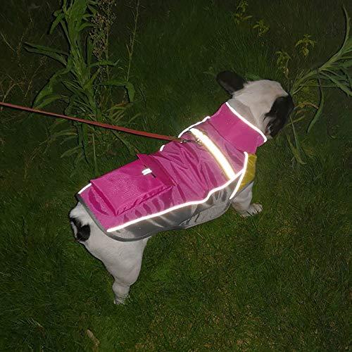 Hosaire 1x Wasserdichte Haustier Jacke Hundejacke Outdoor Hundemantel