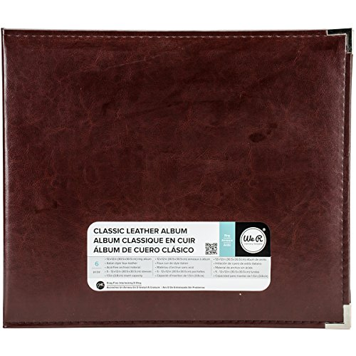 (We R Memory Keepers 660912 Classic Leather D-Ring Album 12