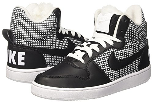 Basket Borough Nike Donna Da whiteblack Se Mid Bianco Court Scarpe nYYw56qF