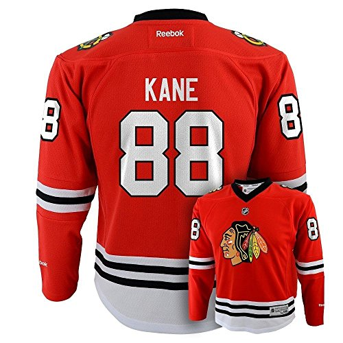 - Patrick Kane Chicago Blackhawks Red Youth Replica Jersey Large/X-Large