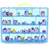 My Egg Crate Storage Organizer By Life Made Better - Compatible with the Hatchimals and Hatchimal Colleggtibles brands - Durable Carrying Case For Mini Eggs, Easter Eggs & Speckled Eggs – Blue