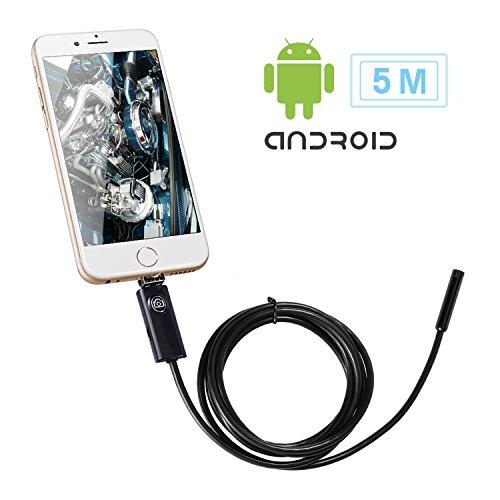 Endoscope Inspection LESHP Smartphone Waterproof