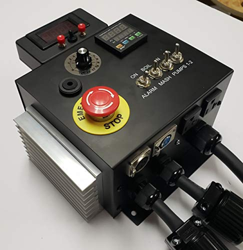 240v HERMS II (Heat Exchanged Recirculating Mash System) Home Brewery Controller by BREW-CONTROL (Image #2)