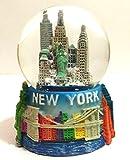New York City Small Snow Globe 2.5 Inch (45mm) Skylines & Statue of liberty wg224