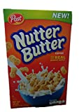 If you love peanut butter, you'll go crazy for NUTTER BUTTER cereal! Peanut-shaped pieces offer a crunchy bit of fun. A creamy coating with REAL peanut butter tops them off with the flavor you love. Now you can follow your passion for peanut ...