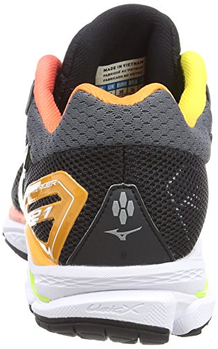 Wave Multicolore Osaka Wos Chaussures Running 21 Safetyyellow Mizuno White de 44 Femme Noir Rider Black HSwWv