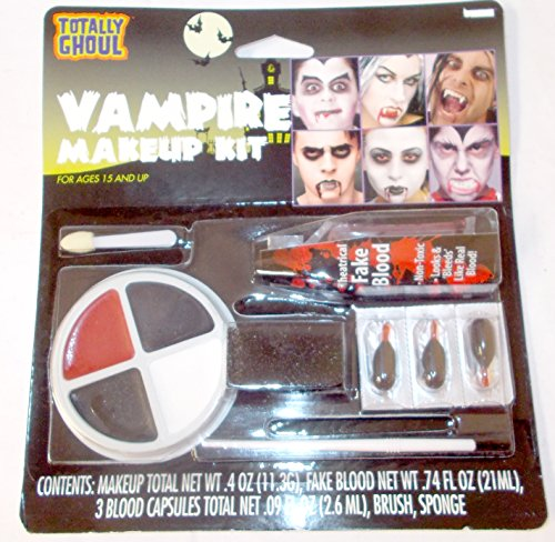 Kmart Halloween Costumes For Adults (Vampire Fancy Dress Make Up Kit Accessory)