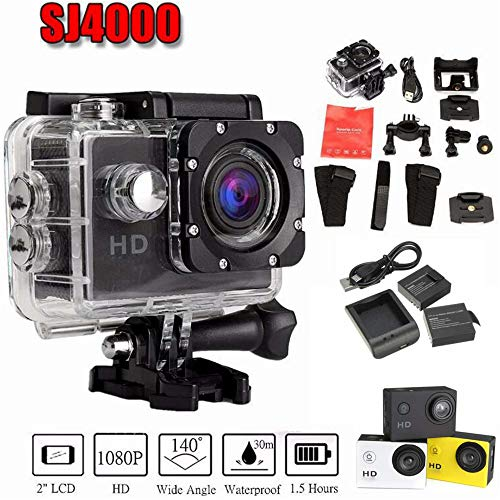 Sports Camera Outdoor Waterproof Digital Camera VGA Riding Recorder Child Camera Portable DV Wide-Angle Anti-Shake Recording Video Camera