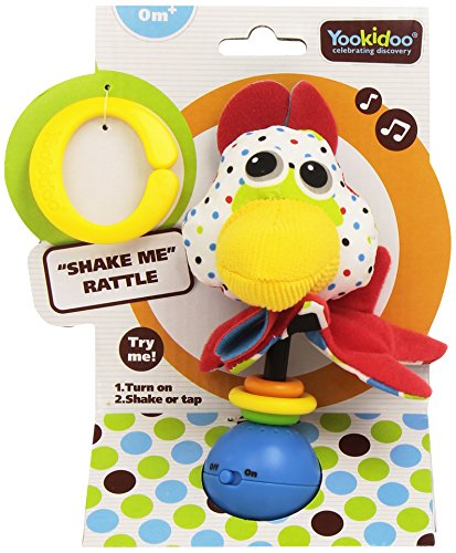 Musical Activity Rattle Activated Rooster product image