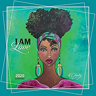 Shades of Color 2020 African American Calendar, I Am…, 12 by 12 Inches (20IAM)