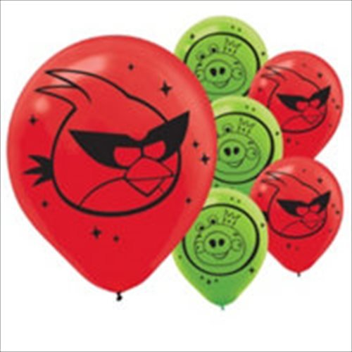 Angry Birds 'Space' Latex Balloons (6ct) ()