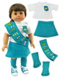 18 Inch Doll Clothes - Junior Girl Scout Outfit | Fits 18' American Girl Dolls |