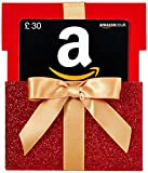 Amazon.co.uk Gift Card - Reveal - £30 (Red Gift Box)
