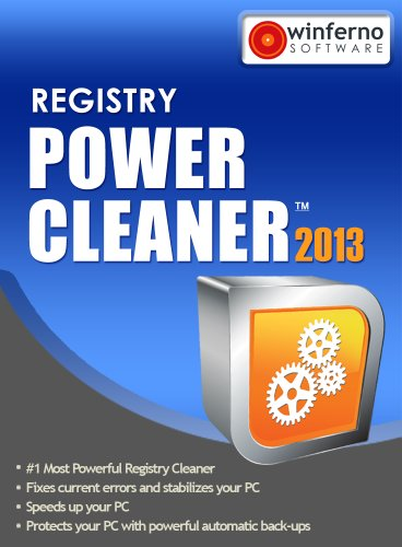 Winferno Registry Power Cleaner 2013 - 12 Month Subscription [Download] (Registry Cleaning Software)