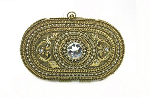 Sitara, Sac à main femme en or