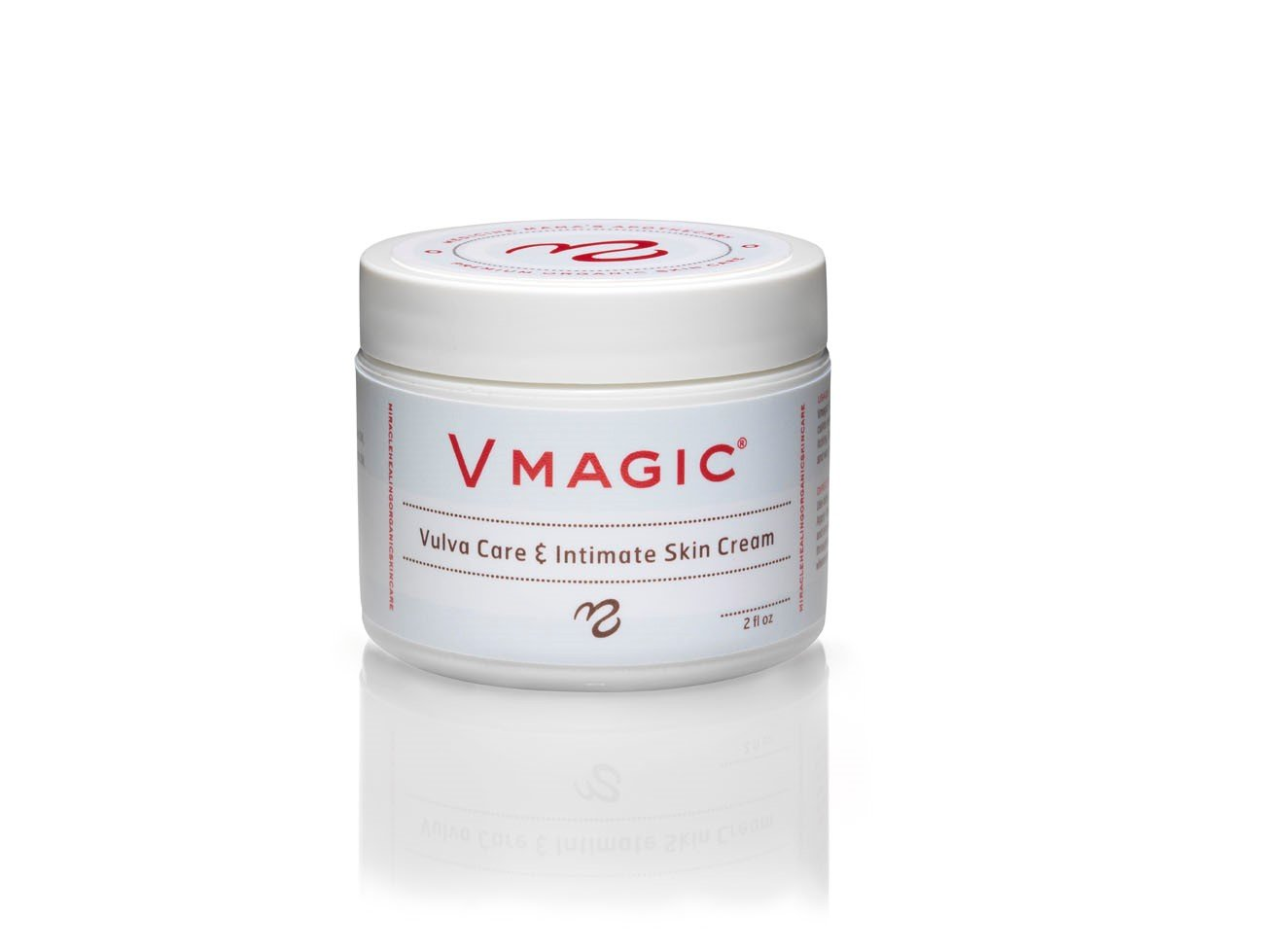 Vmagic Organic Vulva Balm & Intimate Skin Care, Feminine Irritation Relief-  Relieves Dryness,