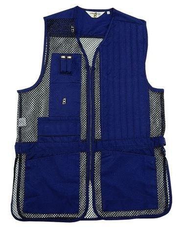 Bob-Allen Shooting Vest, Left Handed, Navy, 4X