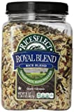 RiceSelect Royal Blend, Texmati White, Brown, Wild, and Red Rice, 21 Ounce Jar