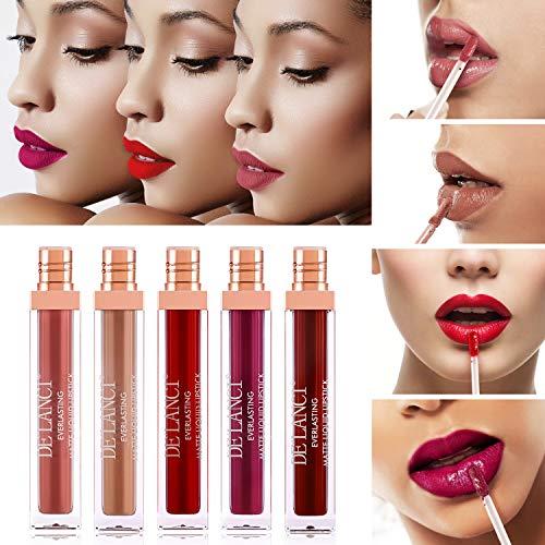 lip makeup palette (nude liquid lipstick)
