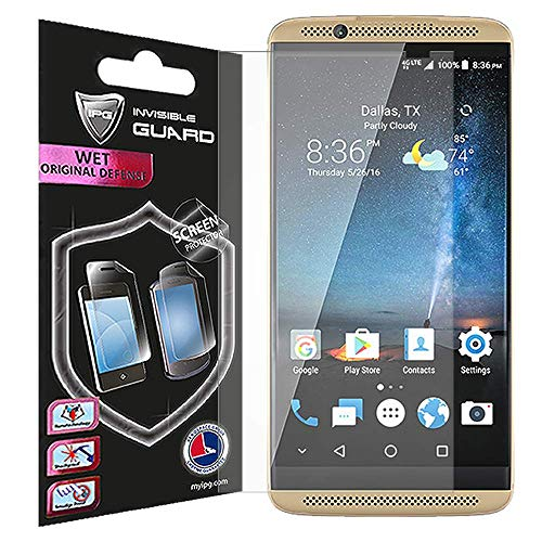 For ZTE AXON 7 MINI SCREEN Protector Invisible Ultra HD Clear Film Anti Scratch Skin Guard - Smooth / Self-Healing / Bubble -Free By IPG