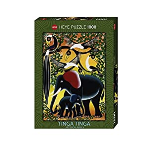 Heye Puzzle Tinga Famiglia Di Elefanti 1000 Pezzi Vd 29458