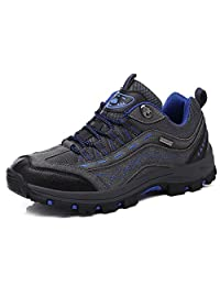 LIN&LV Men Women Unisex Outdoor Breathable Quick-Dry Hiking Shoes Mountaineering Couple Walking Sneakers