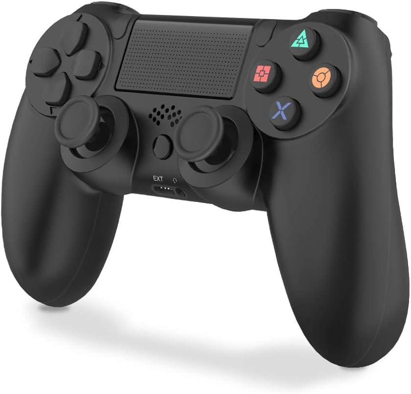 VINSIC Mando PS4, Inalambrico Mando para PS4 - Gamepad para PS4/ PS4 Pro/ PS4 Slim/ PC/ Laptop