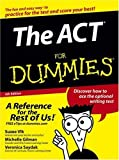img - for The ACT For Dummies by Michelle Rose Gilman (2005-08-12) book / textbook / text book