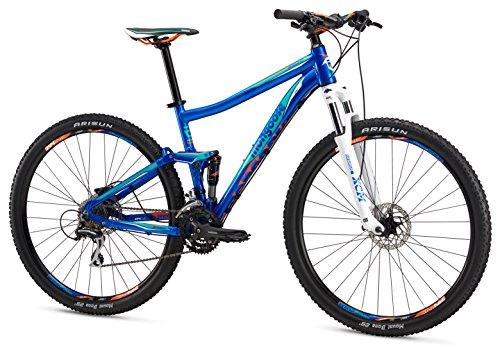 "Mongoose Salvo Sport 29"" Wheel Mountain Bicycle, Blue, 16""/S"