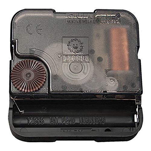 (Vangold Quartz Wall Clock Movement Mechanisms Battery Powered Clock Kit for DIY Clock Replacement(2-Year Warranty) (Black))