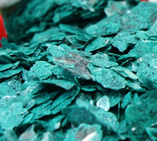 (Meyer Imports Natural Mica Flakes - Green - Turquoise - 1/4 oz - #311-4322 )