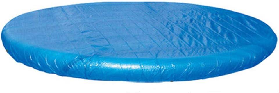 Super11Six 52244 Cobertor para Piscina Desmontable- Ø 244cm 8 x 8 ft Toldo Lona alquitranada- Cobertor para Piscina Hinchable Easy Set,Ø 244cm