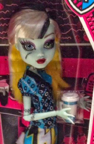 Monster High Frankie Stein Coffin Bean Doll (Monster High Jane Boolittle??? Doll)