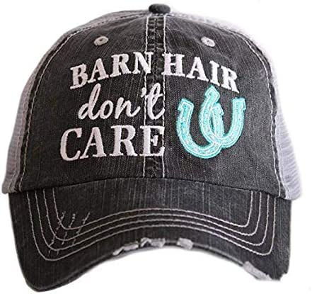 7 ate 9 Apparel Funny Kids Barn Hair Dont Care T-Shirt