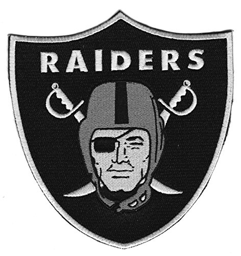 Oakland Raiders Iron-on Patch 6inch