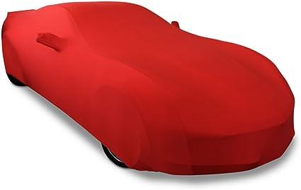 Z51 Indoor : C7 Stingray Z06 Grand Sport Dark Red//Black Corvette Ultraguard Stretch Satin Sport Car Cover