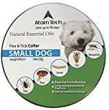 Dog Flea Treatment Collar - [New 2018 Version] Flea and Tick Collar for SMALL Dogs and Puppies - Best Natural Pet Protection Kills, Repels, & Prevents Fleas, Pests, Insects for 8 Months - Waterproof (FOR DOG2)