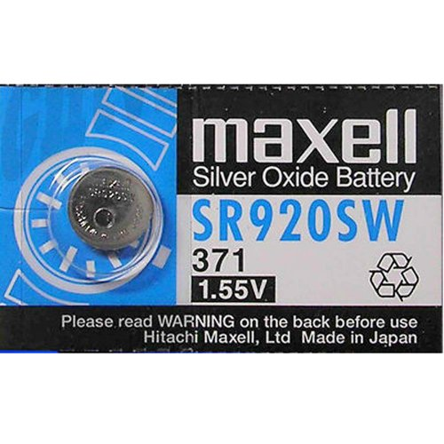 MAXELL 371 - Watch Battery - Coin Maxell Battery Watch