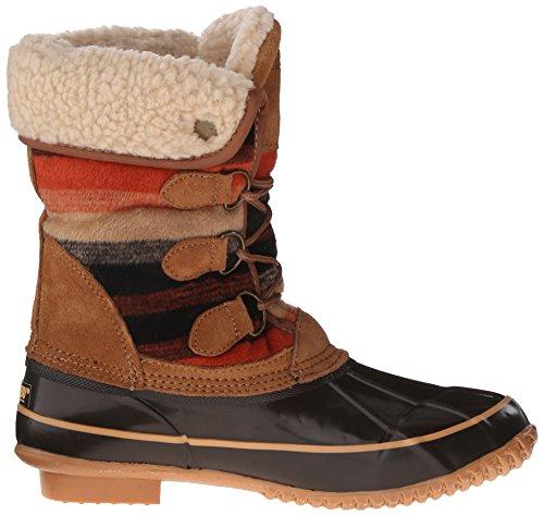 Jilly Brown Print Weather Khombu Women's Boot Cold Uq5x7Axwg