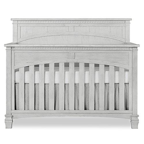 Evolur Santa Fe 5 in 1 Convertible Crib, Antique Mist ()