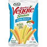 Sensible Portions Garden Veggie Straws, Zesty Ranch, 1 oz. (Pack of 24)