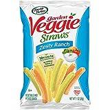 Sensible Portions Garden Veggie Straws, Zesty Ranch, 1 oz. (Pack of 6)
