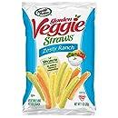 Sensible Portions Garden Veggie Straws, Zesty Ranch, 1 oz. (Pack of 24)
