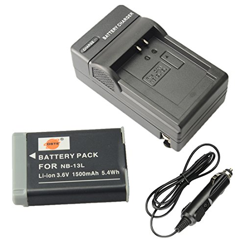 DSTE Battery Charger Adapter PowerShot
