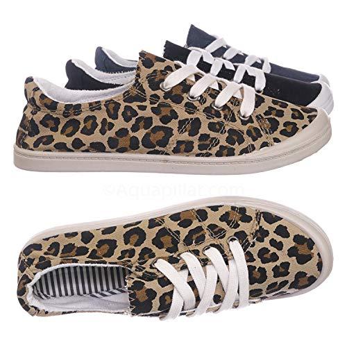 Vintage Flexible Rubber Sneaker - Women Canvas Comfort Bendable Shoes