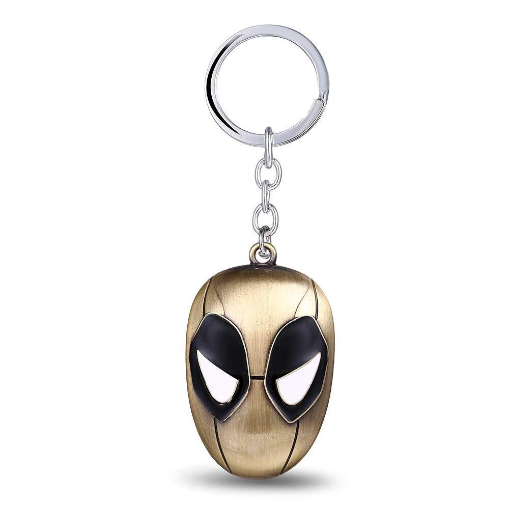 Amazon.com: FITIONS - 12pcs/lot Anime Deadpool Keychain Mask ...