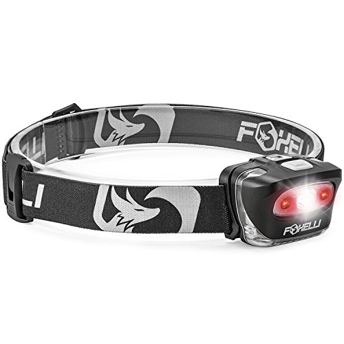 Foxelli Headlamp Flashlight Lightweight Waterproof product image