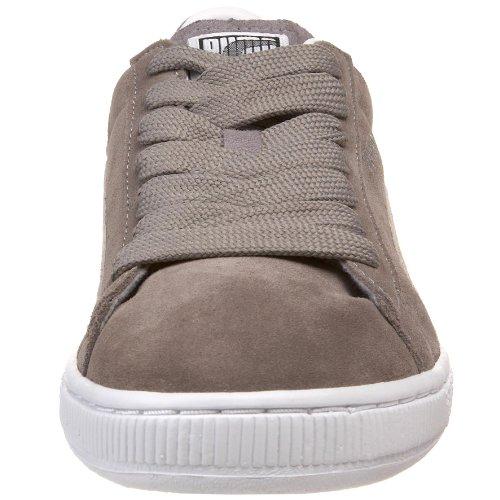 Sneaker Puma Uomo In Pelle Scamosciata S 10 Grigio / Bianco