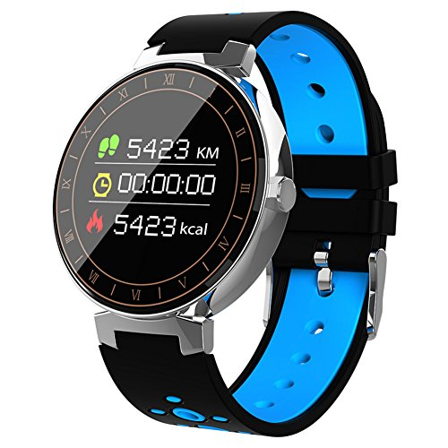 Beseneur Fitness Tracker, Activity Tracker with Heart Rate Monitor, Multiple Sports Mode Color Display Smart Wristband with Pedometer, IP68 Waterproof Blood Pressure and Oxygen Monitor for Men Women