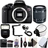 Canon EOS Rebel T6 18MP Digital SLR Camera with 18-55mm EF-IS STM Lens , 430EX lll Non RT Flash and Accessory Bundle